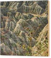 Into The Badlands South Dakota #3 Wood Print