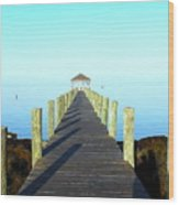 Into The Blue 5 3116 Wood Print