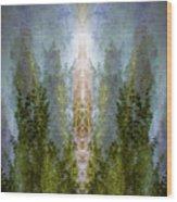Radiance Rising Wood Print
