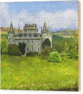 Inveraray Castle A600000993 Wood Print