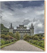 Inveray Castle Wood Print
