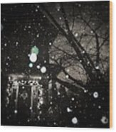 Inverno Eterno Wood Print
