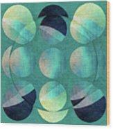 Inversion Wood Print
