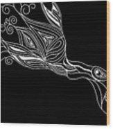 Inverted Bird Wood Print