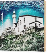 Inverted Lighthouse  Wood Print