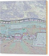 Invesco Field Wood Print
