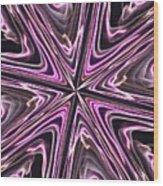 Inviolate Violet Wood Print