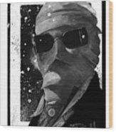 Invisible Man Wood Print