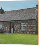 Iona Gallery And Pottery Wood Print