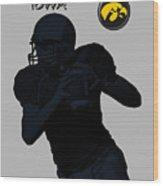 Iowa Football  Wood Print