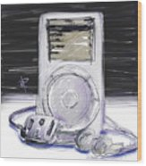 iPod Wood Print by Russell Pierce