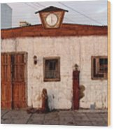 Iquique Chile Cantina Wood Print