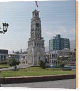 Iquique Chile Plaza Wood Print