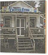 Ira V Ferguson's Country Store Wood Print