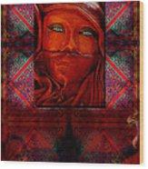 Iran Daze Wood Print