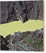 Irazu Volcano - Costa Rica Wood Print