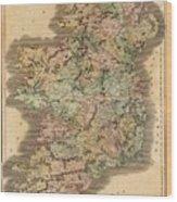 Ireland 1831 Wood Print
