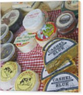 Ireland Cheese Vendor Wood Print