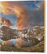 Ireland Lake Sunrise - Yosemite Wood Print