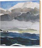 Ireland Mutton Isle Clare Wood Print