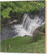 Ireland Waterfalls Wood Print