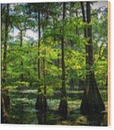 Iridium Paradise Wood Print