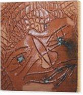 Irina -tile Wood Print