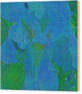 Iris Ageless Blossom  Wood Print