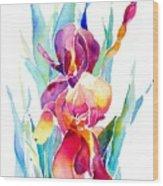 Iris Designz Wood Print