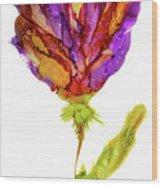 Iris Flower 2 Wood Print