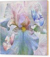 Iris - Goddess Of Serenity Wood Print