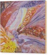 Iris Intricacies Wood Print