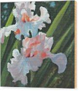Iris Pour Une Belle Femme Wood Print by Glenn Secrest
