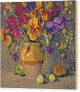 Iris Rhapsody Wood Print