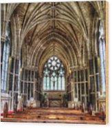 Irish Abbey Wood Print