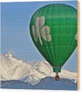 Irish Balloon Wood Print