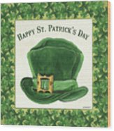 Irish Cap Wood Print