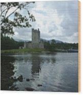 Irish Castle Wood Print