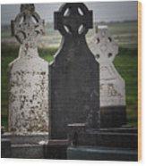 Irish Cemetery P7010429 Wood Print
