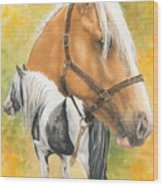 Irish Cob Wood Print