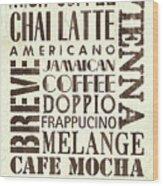 Irish Coffee Wood Print