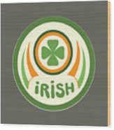 Irish Wood Print
