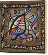 Irish Golden Age #1 - Sailing To Byzantium Wood Print