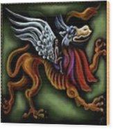 Irish Golden Age #14-jabberwock Wood Print
