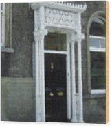 Irish Solicitors Door Wood Print