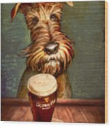 Irish Toast Wood Print