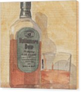 Irish Whiskey Wood Print