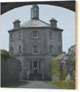 Irish Wisteria Lane Wood Print