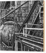 Iron Age - Bethelehem Steel Mill Wood Print