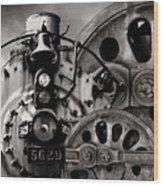 Iron Circles No. 1 Wood Print